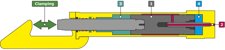 QUIRI - Autolock hydraulic vise-grip drawing