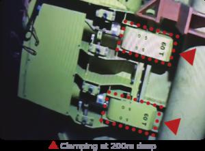 QUIRI - Autolock vise-grip - Clamping at 200m deep