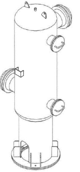 Pulsation dampener - Pressure vessels - Quiri - 2