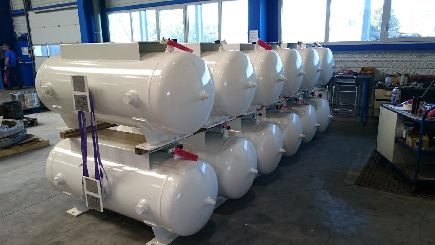 Réservoir stockage fluide process - Réservoirs à pression - Quiri - 2