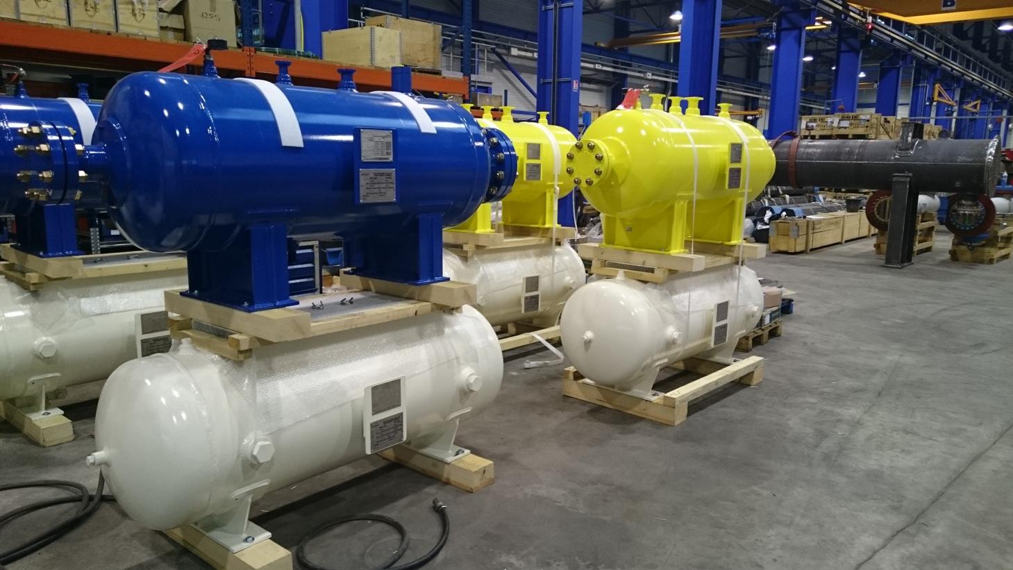 Réservoir stockage fluide process - Réservoirs à pression - Quiri - 3