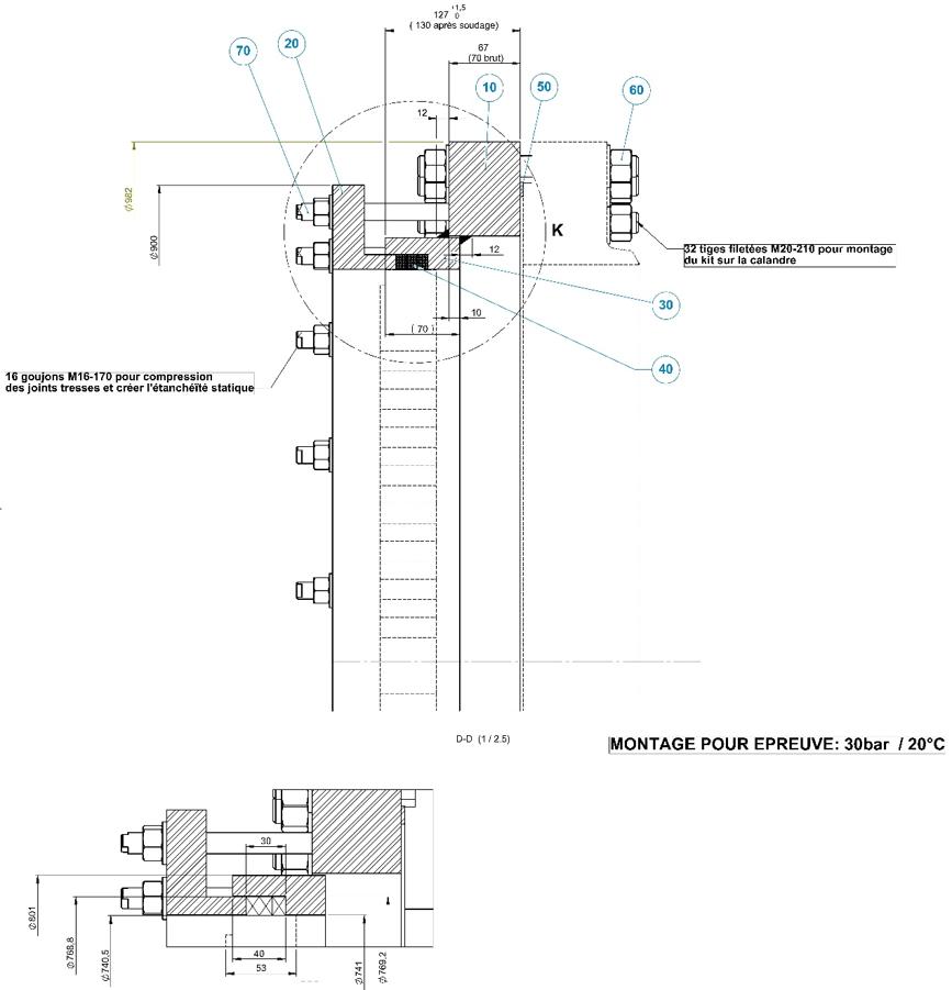 Anneau d'épreuve pour échangeur thermique - Pièces détachées - Quiri - 2
