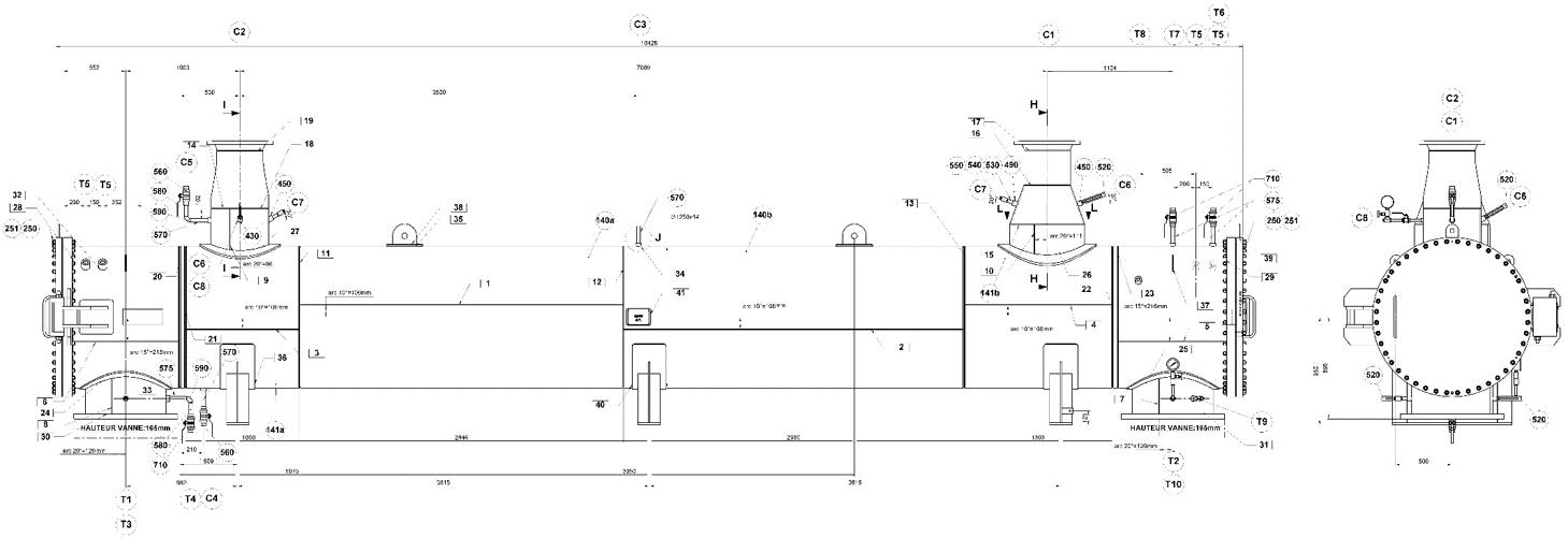 Refroidisseur de liquide - Échangeur de chaleur multitubulaires - Quiri - 2
