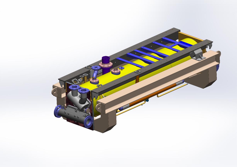 Évapo-condenseur frigorifique - Échangeur de chaleur multitubulaires - Quiri - 2