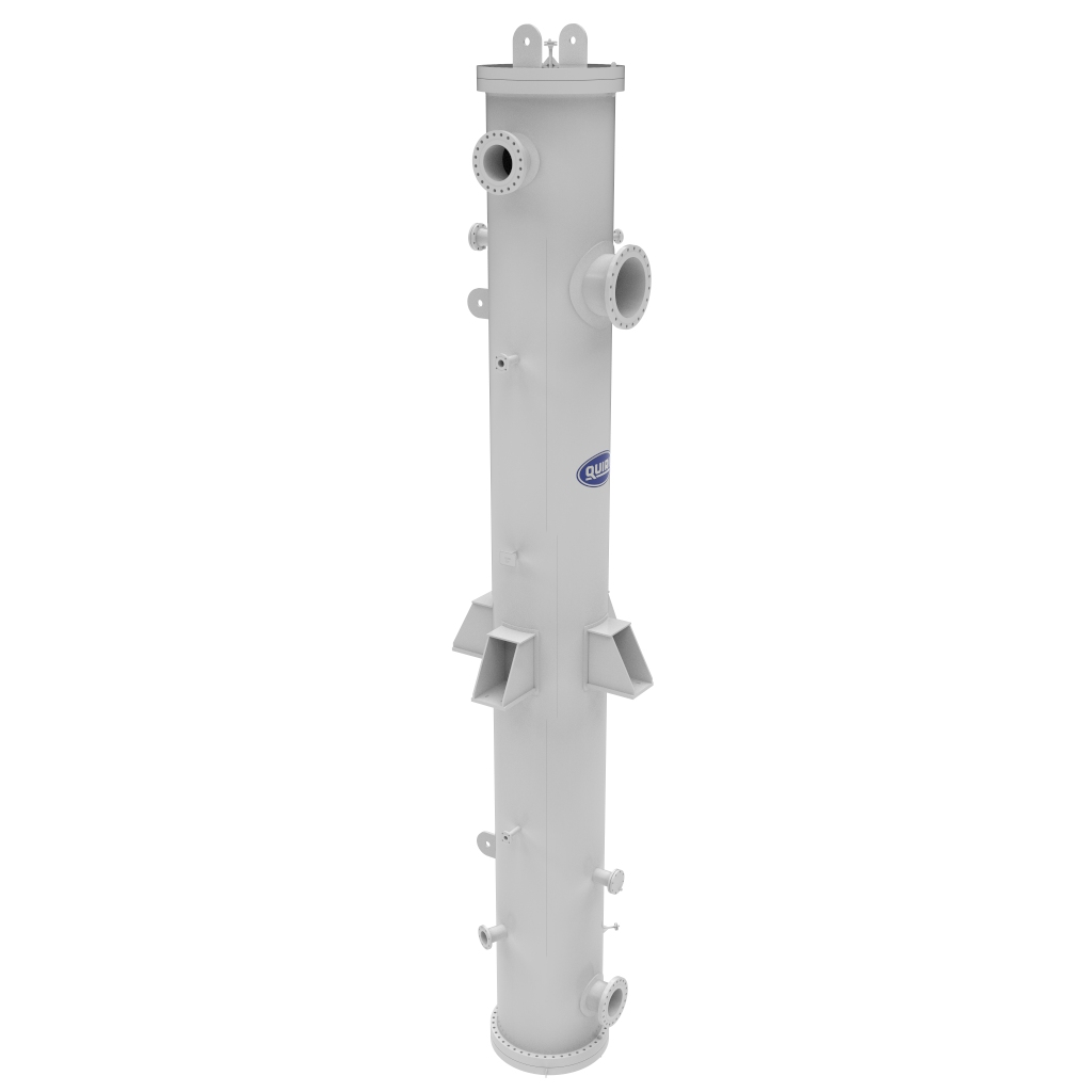 Condensate reheater - Shell and tube heat exchangers - Quiri
