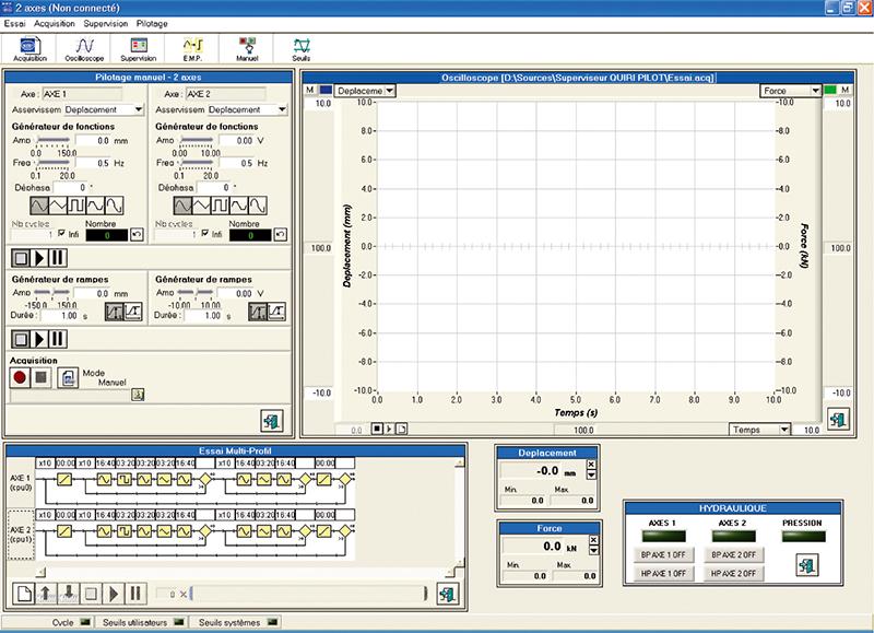 SPS800 digital control system - QUIRI HYDROSystems - Quiri - 3