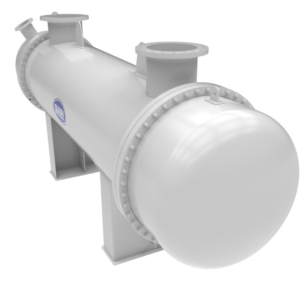 Gas cooler – wet air cooler - Shell and tube heat exchangers - Quiri