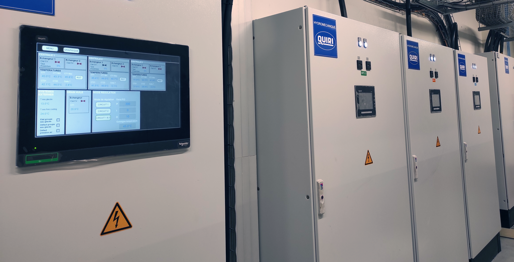Automatisme et Informatique Industrielle, électronique et électrique - Hydrosystems - Quiri